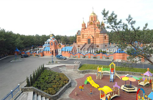 Temple Complex in Dnepropetrovsk