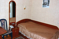 Single room in Ukraine Hotel