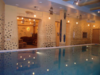 Health-improvement baths complex in Bukovyna Hotel