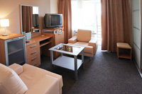 Two-room Suite Superior in Dnepropetrovsk Hotel