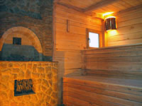 Sauna in Patriot Hotel