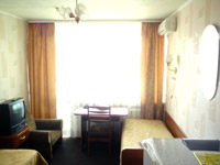 Standard double room in Rassvet Hotel