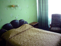 Superior single room in Rassvet Hotel
