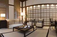 Japanese suite in Opera Hotel