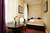 Single Superior Room in Vintage Boutique Hotel
