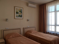 Standard Twin Room in Black Sea Hotel Panteleymonovskaya