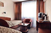 Twin room (1 room) with shower in Black Sea Hotel Rishelevskaya