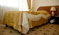 Semi suite room in «Yunost» Hotel