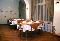 Restaurant in «Yunost» Hotel