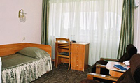 Single standard room in «Yunost» Hotel