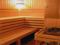 Sauna in Atrium - King's Way Hotel