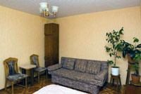 Single room in Nadezhda Hotel