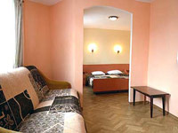 Two rooms number, all-season cottage in Sofia Hotel
