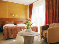 Junior suite rooms in Ukraine Hotel