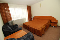 Double room in Sportivnaya Hotel