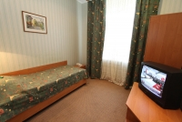 Standard room in Ukraina Hotel