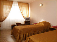 Double room in Zvezdnaya Hotel