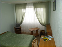 Single room in Zvezdnaya Hotel