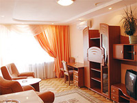 Luxury Suite in Halychyna Hotel