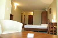 Single business class room in Uzhgorod Hotel