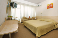 Standard rooms in Yalta-Intourist Hotel